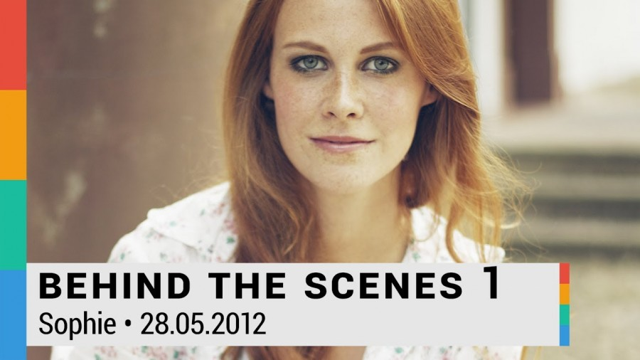 Behind The Scenes 1: Foto-Shooting mit Sophie