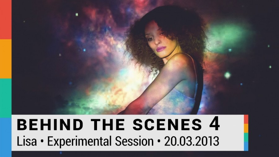 Behind The Scenes 4: Experimental Photography Session mit Lisa