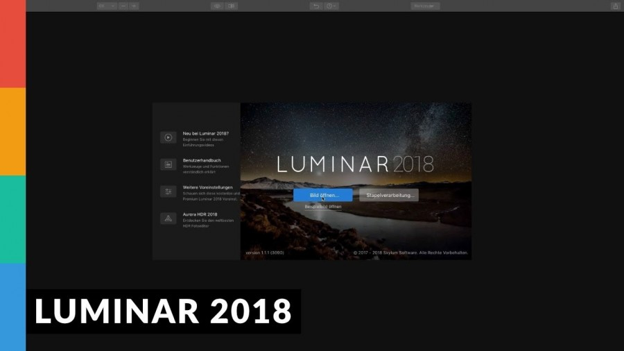 Luminar 2018 - Lightroom Alternative