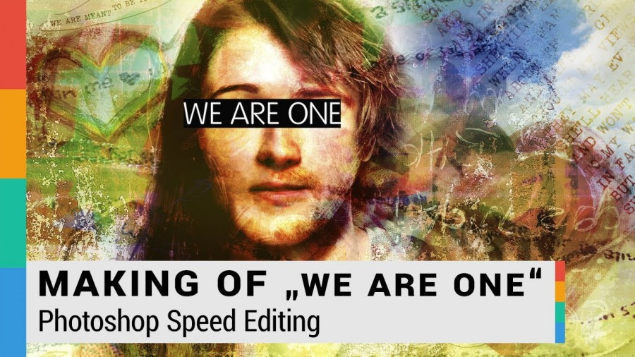 Making Of: We Are One Digital Art - Photoshop Speed Editing