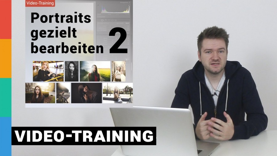 Portraits gezielt bearbeiten 2 - Video-Training Info-Video