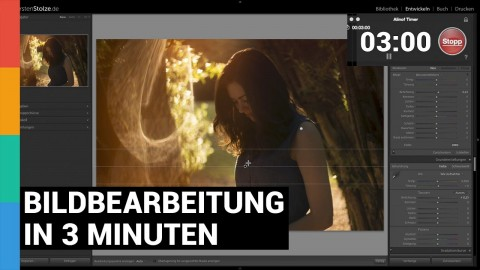 Bildbearbeitung in 3 Minuten - Adobe Lightroom