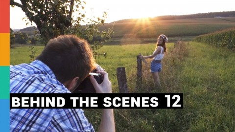 Foto-Shooting Behind The Scenes 12 - August 2014