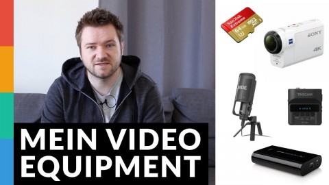 Mein Video-Equipment - Was nutze ich?