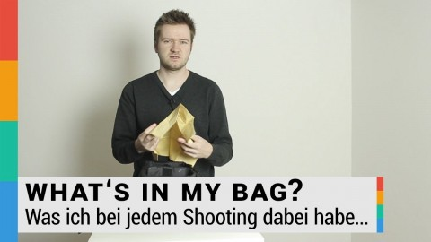 Was ich bei jedem Shooting dabei habe - What's in my bag